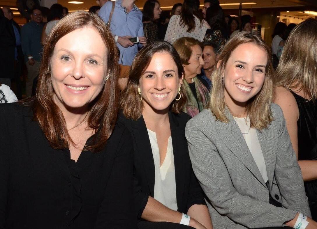 Adriana Esteves, Manoela Santos e Triana Serrano /Foto: Marco Rodrigues