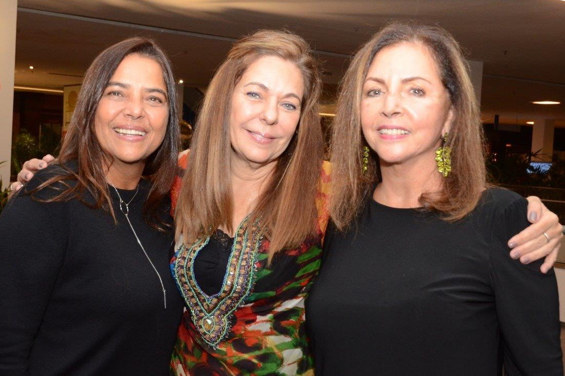 Ana Cristina Lerner, Ana Letícia Nogueira e Nilga Chamoun /Foto: Marco Rodrigues