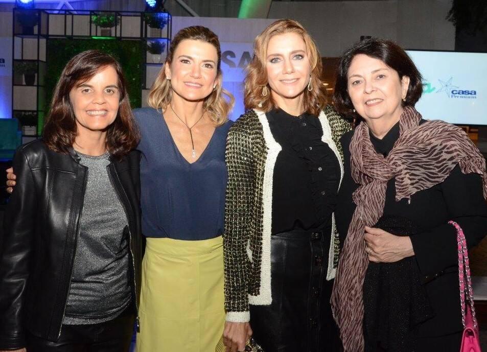 Angela Falcão, Flávia e Fernanda Marcolini e Suzete Aché /Foto: Marco Rodrigues