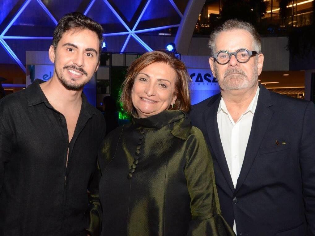 Bernardo Gaudie-Ley, Tania Braida e Eduardo Machado /Foto: Marco Rodrigues