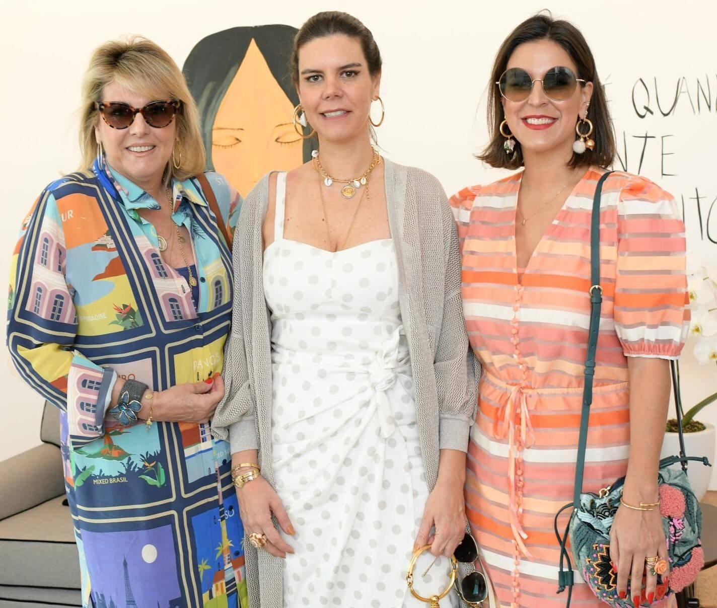 Riccy Souza Aranha, Carol Porto e  Ciccy Halpern /Foto: Lu Prezia