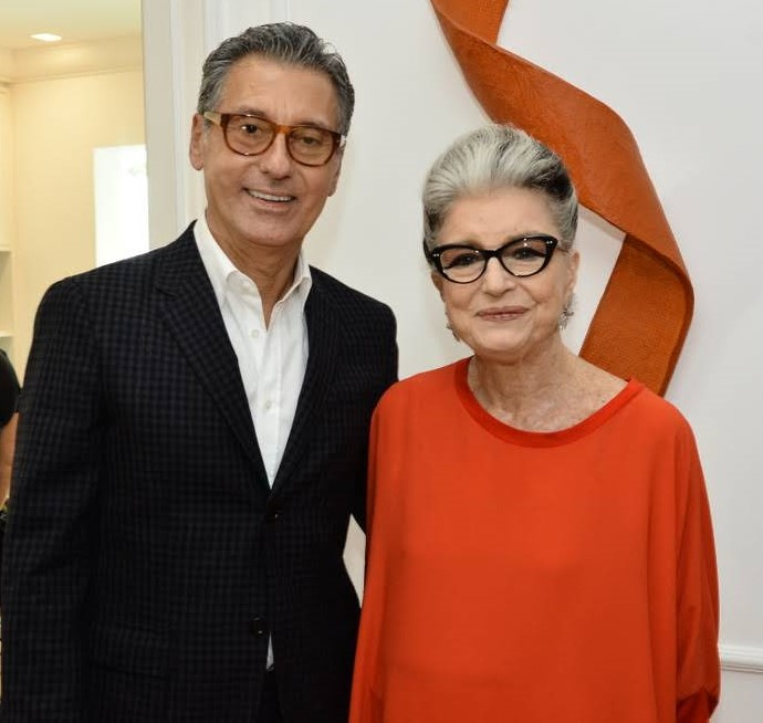 Roberto Paz e Costanza Pascolato  /Foto: Iara Morselli