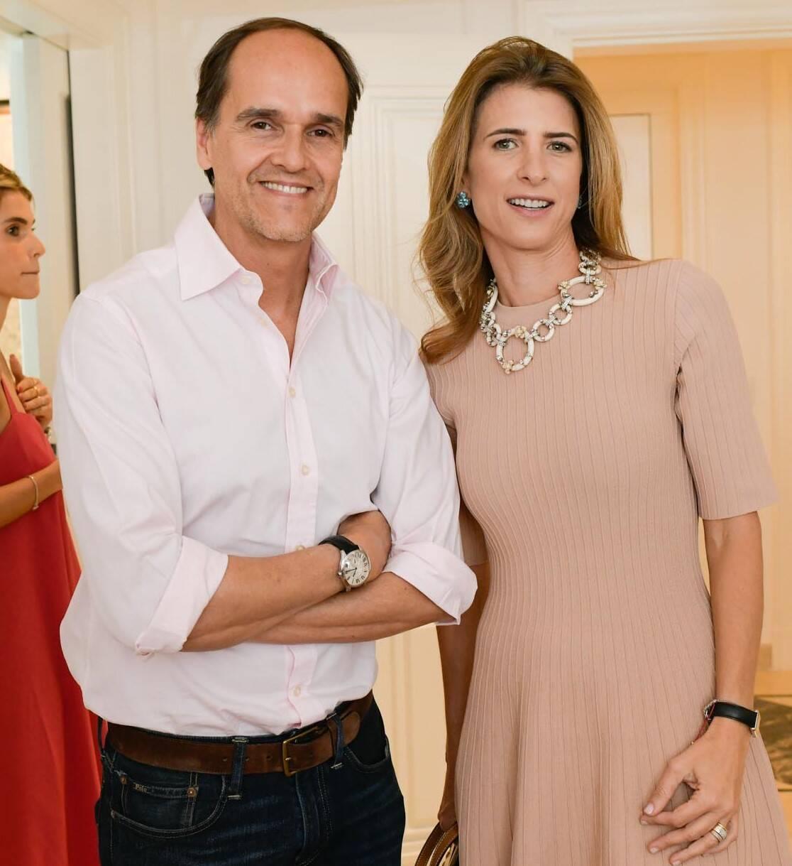 Dado Castello Branco e  Lissa Carmona /Foto: Lu Prezia