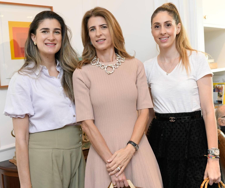 Barbara Migliori, Lissa Carmona e Paula Merlo/Foto: Lu Prezia
