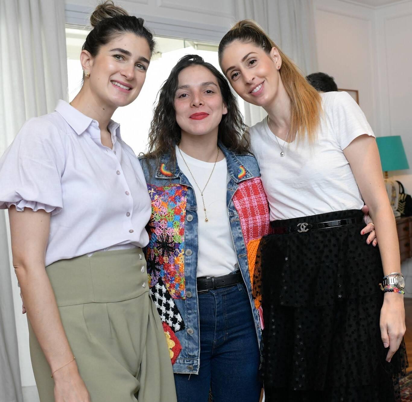 Barbara Migliori, Yasmine Sterea e Paula Merlo/Foto: Lu Prezia