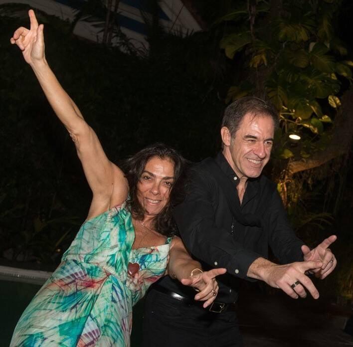 Ana Luiza Rego e Marzio Fiorini /Foto: Cristina Lacerda