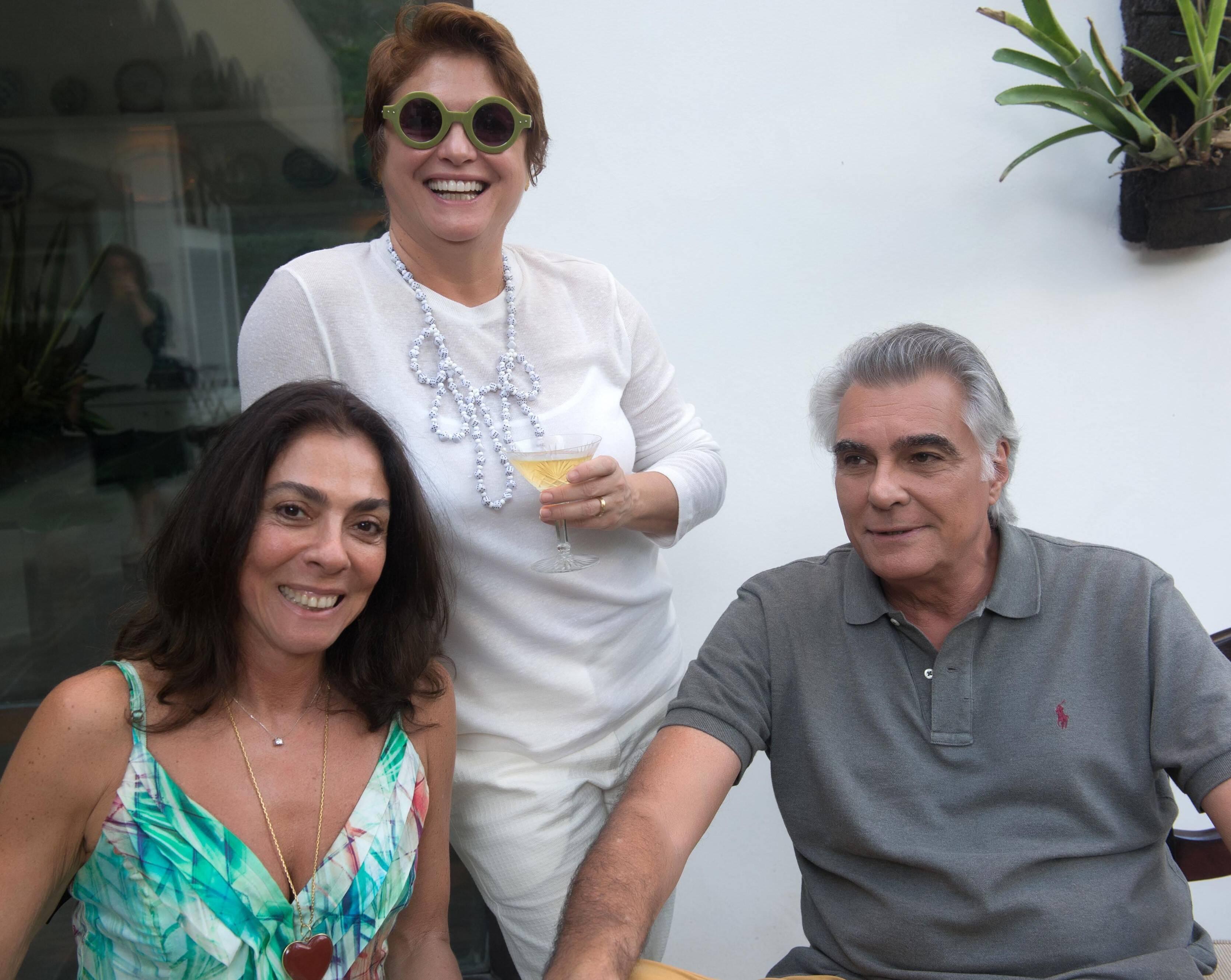 Ana Luiza Rego, Ana Durães e José Pessoa de Queiroz /Foto: Cristina Lacerda
