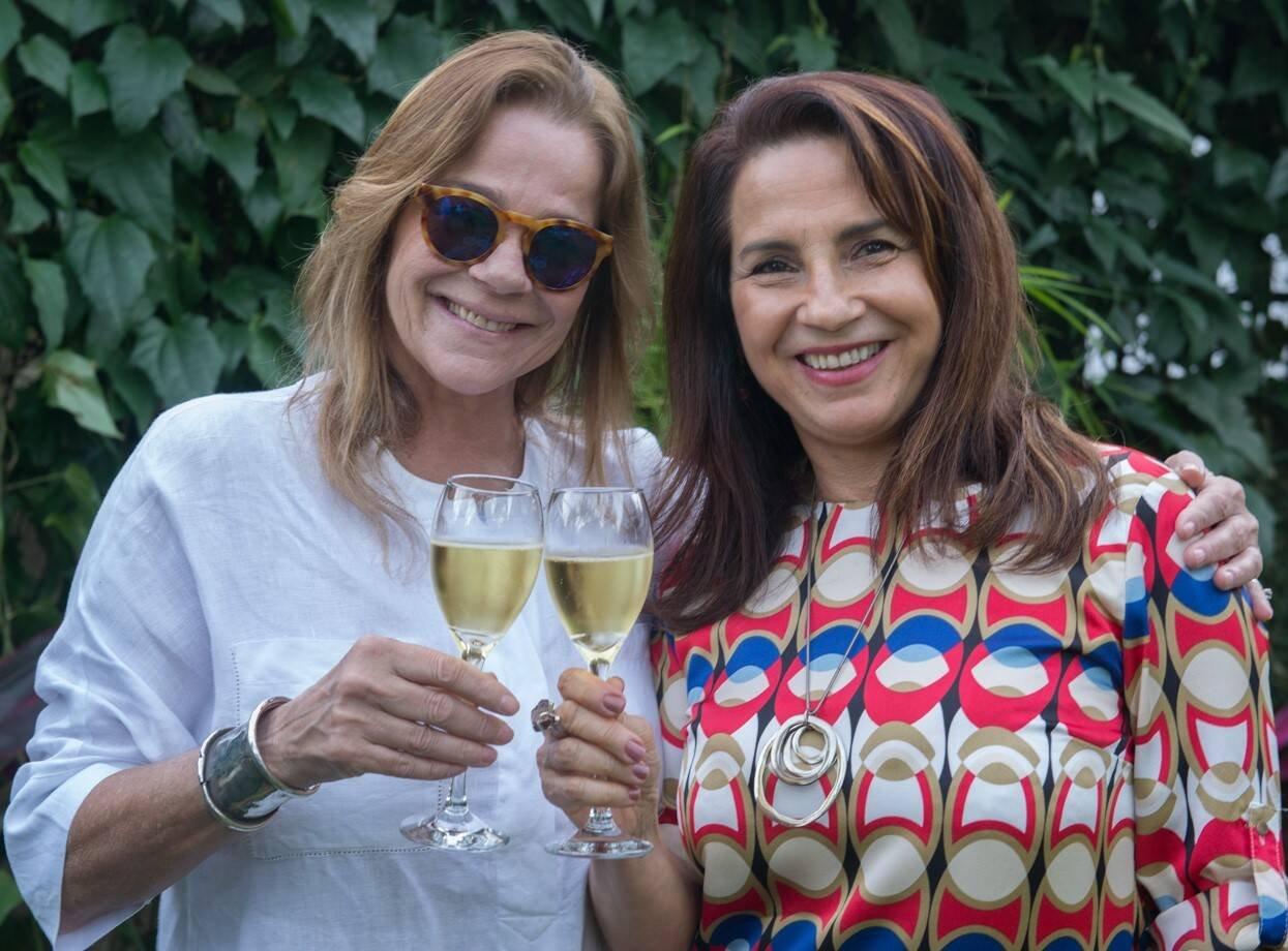 Dora Pellegrino e Lygia Teixeira /Foto: Cristina Lacerda