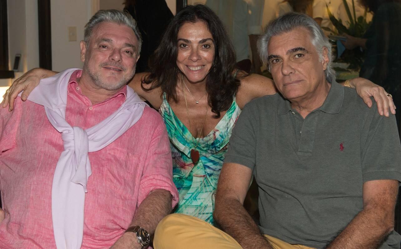 Fernando Sterea, Ana Luiza Rego e José Pessoa de Queiroz /Foto: Cristina Lacerda