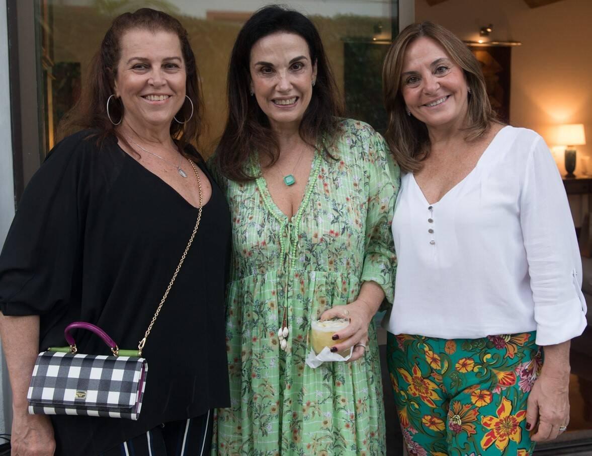 Heleninha Amorim, Georgeana Vasconcellos e Vera Pacheco Fernandes /Foto: Cristina Lacerda