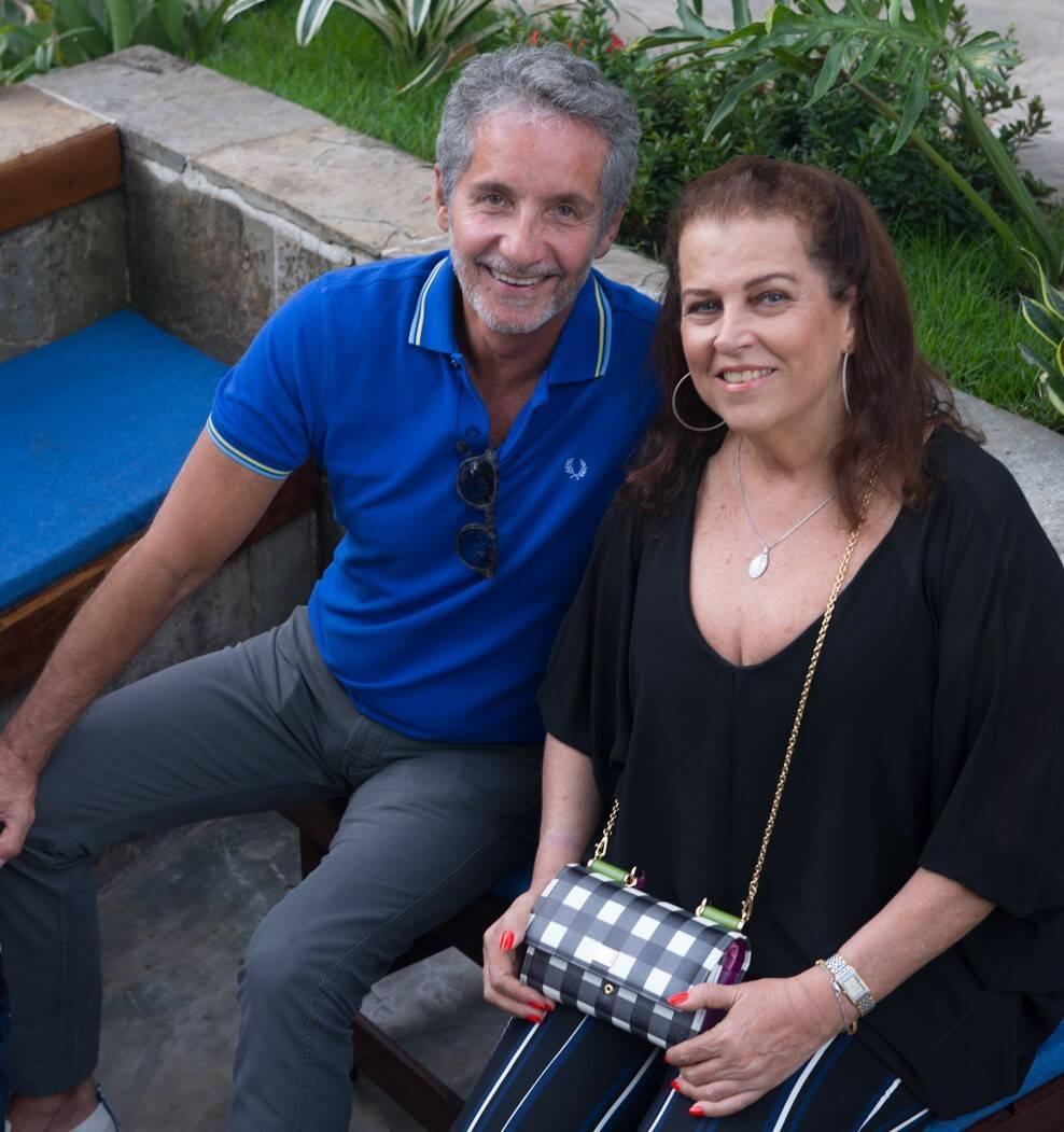 Pedro Guimarães e Heleninha Amorim /Foto: Cristina Lacerda