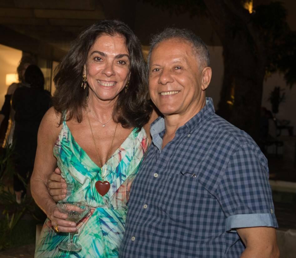 Ana Luiza Rego e Manfredo de Souzanetto /Foto: Cristina Lacerda