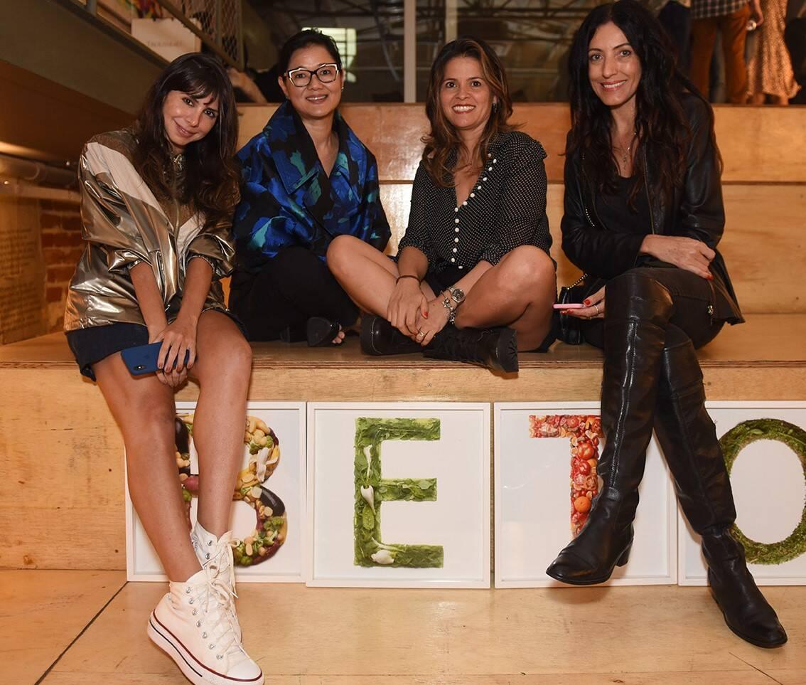 Antonia Galdeano, Marcia Hamaoka, Alexandra Romero e Andrea Chaves /Foto: Juliana Rezende
