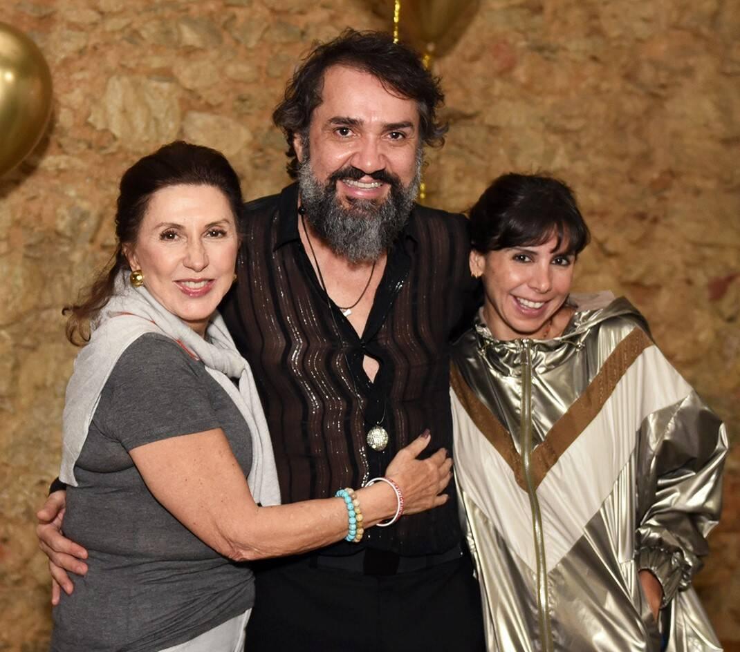 Tanit Galdeano, Beto Silva e Antonia Galdeano /Foto: Juliana Rezende