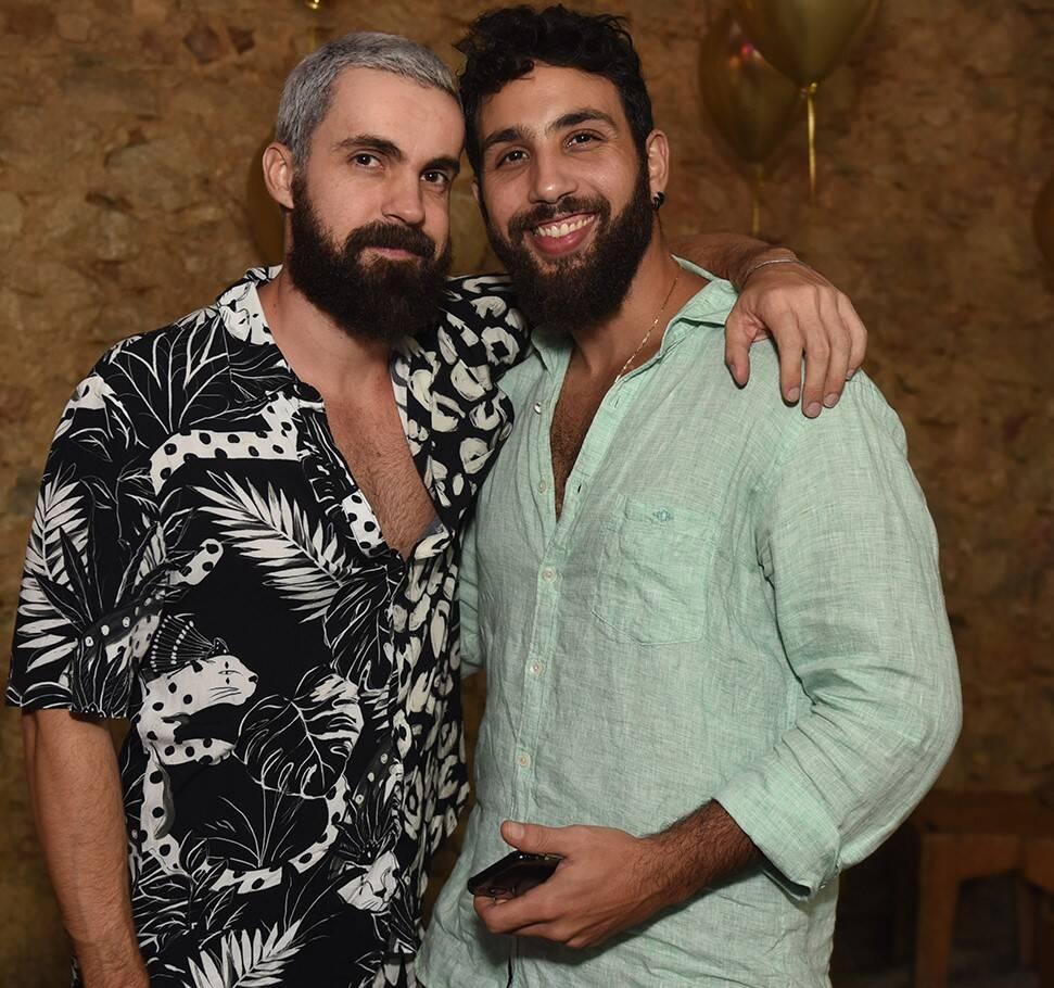 Vinicius Fleming e Jonas Neto /Foto: Juliana Rezende