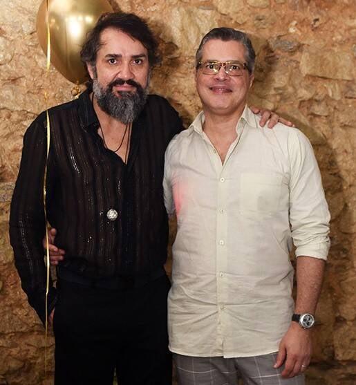 Beto Silva e Claudio Cadeco /Foto: Juliana Rezende