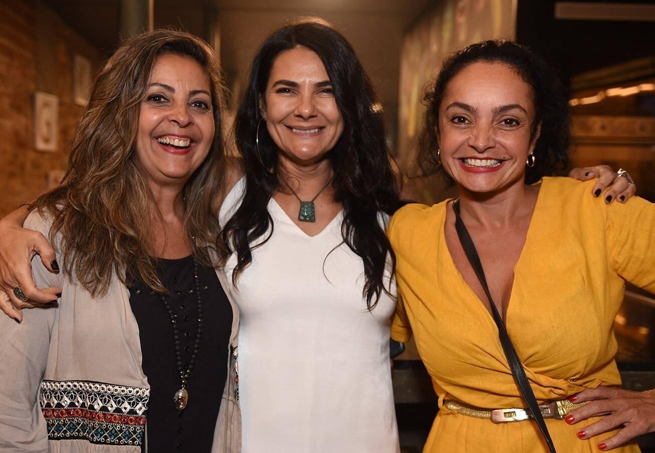 Kassia Chaves, Cibelle Larrama e Yachmin Gazal /Foto: Juliana Rezende