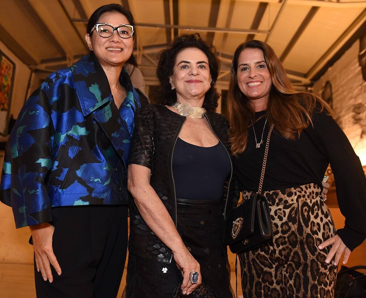 Marcia Hamaoka, Cristina Burlamaque e Renata Martins /Foto: Juliana Rezende
