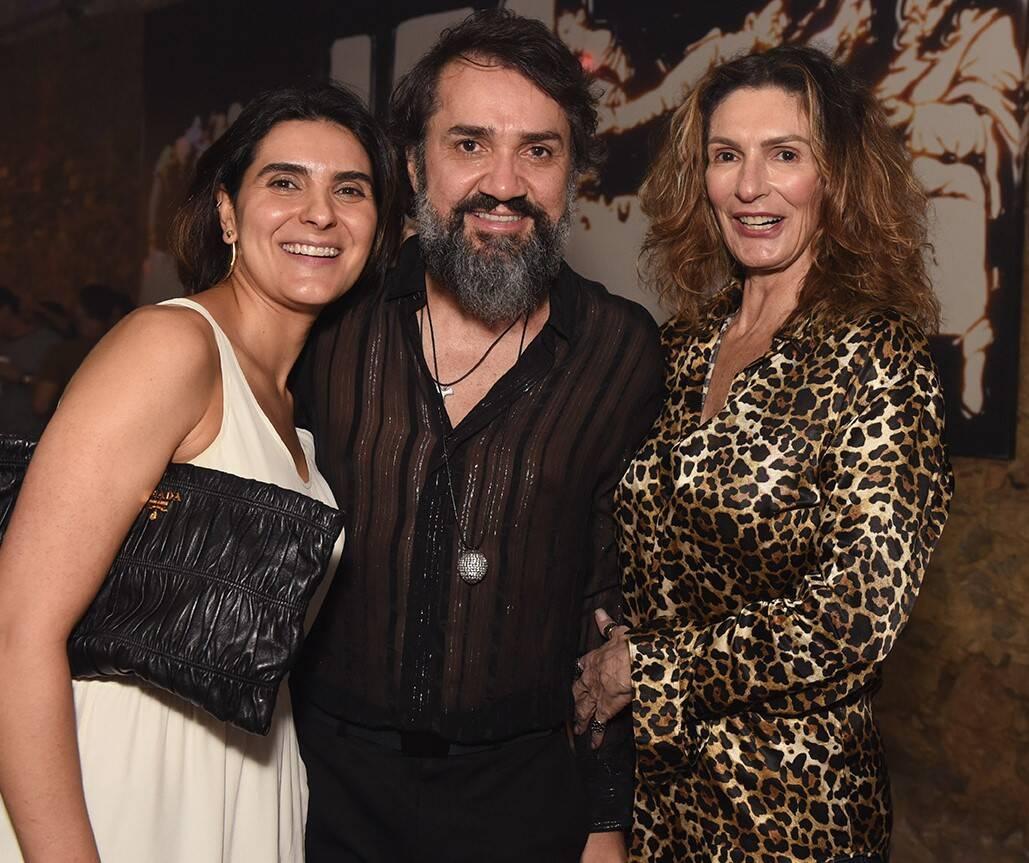 Roberta do Rio, Beto Silva e Rosana Lopes /Foto: Juliana Rezende