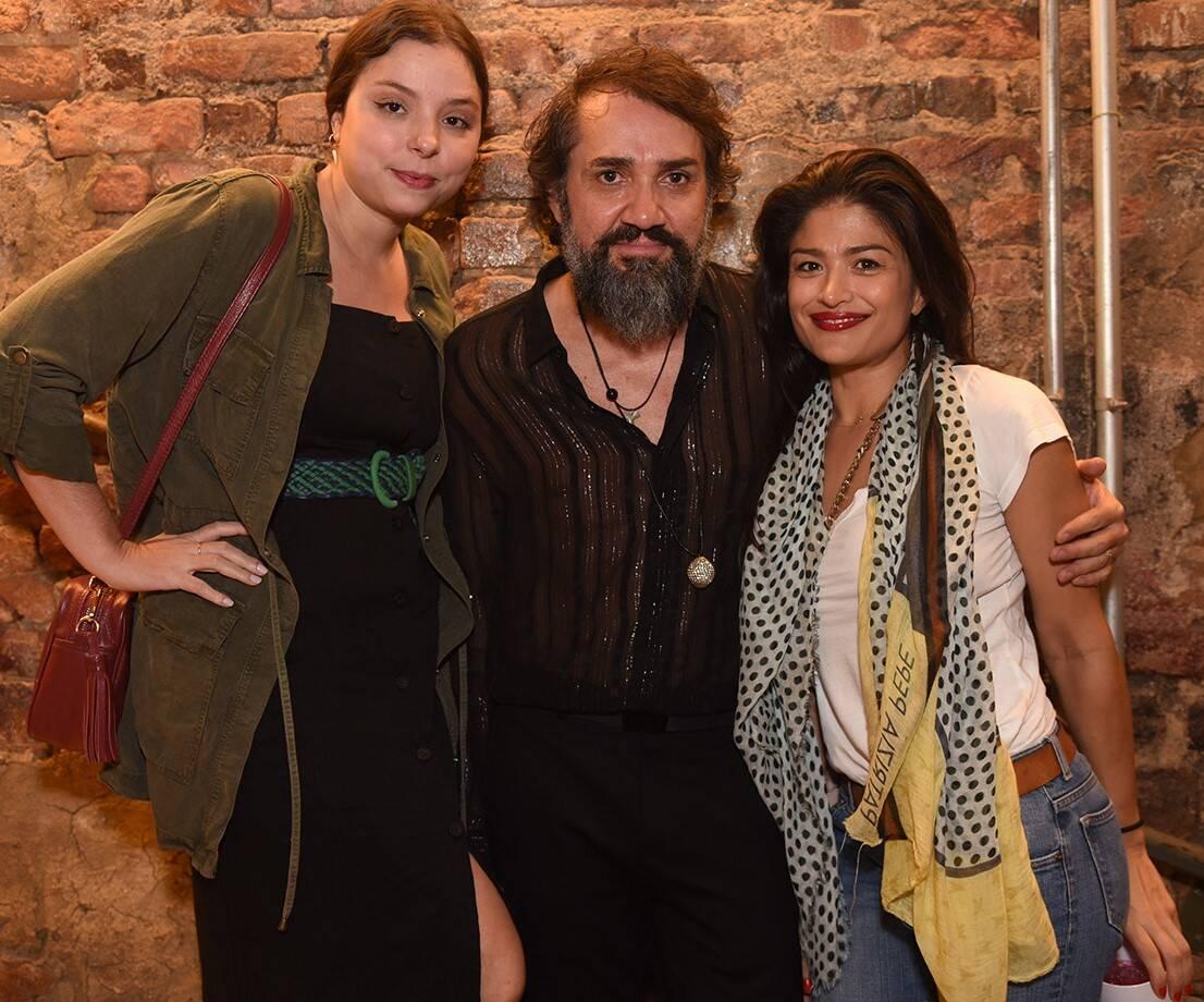 Marianne Volpi, Beto Silva e Cissa de Castro /Foto: Juliana Rezende