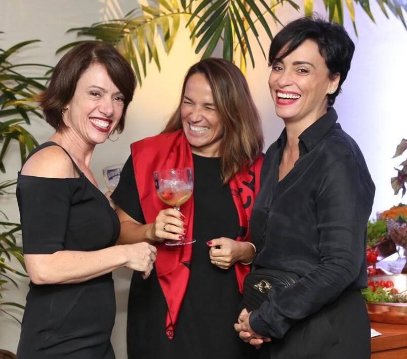 Bel Kutner, Marina Caruso e Suzana Pires /Fotos:  Reginaldo Teixeira e Andreson Borde