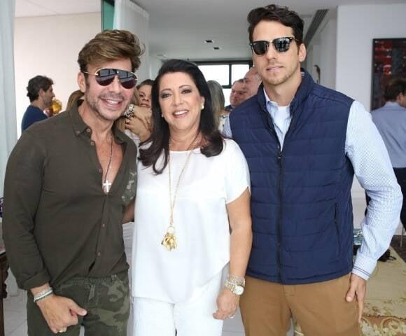 Carlos Rodeiro, Aurora Mendonça e Marcel Souza