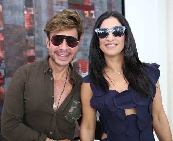 Carlos Rodeiro e Karine Queiroz