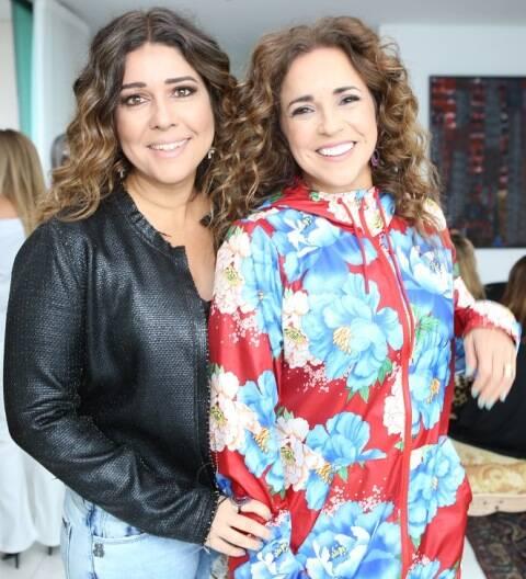 Malu Verçosa e Daniela Mercury
