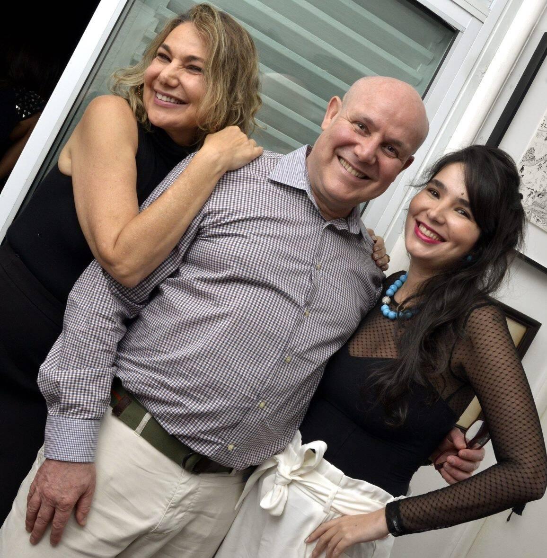 Marcia, Paulo  e Antônia Müller /Foto: Cristina Granato