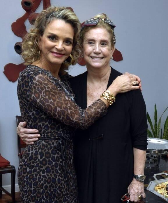 Cristina Midosi e Madeleine Saade /Foto: Cristina Granato