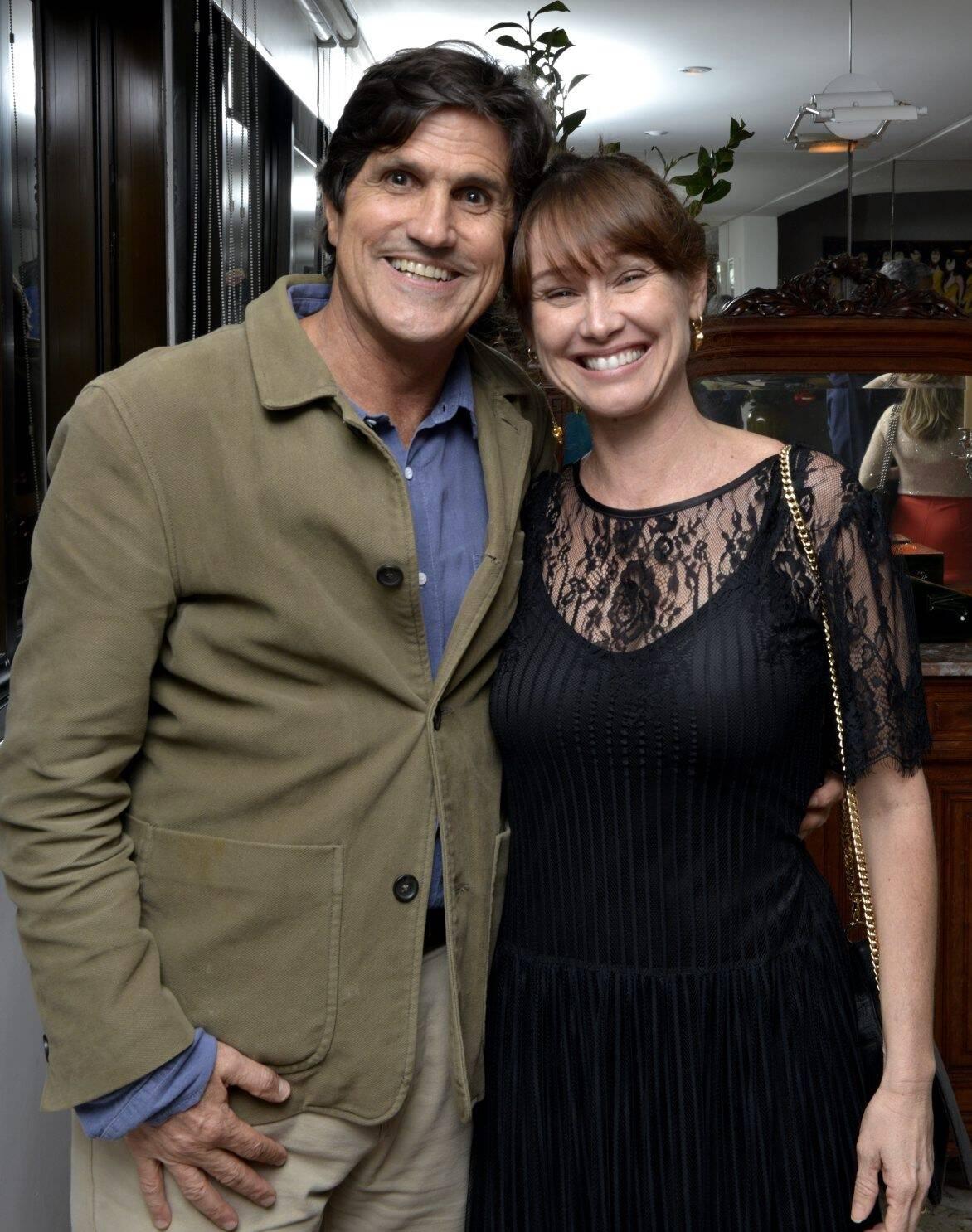 Marcus  e Sandra Gasparian /Foto: Cristina Granato