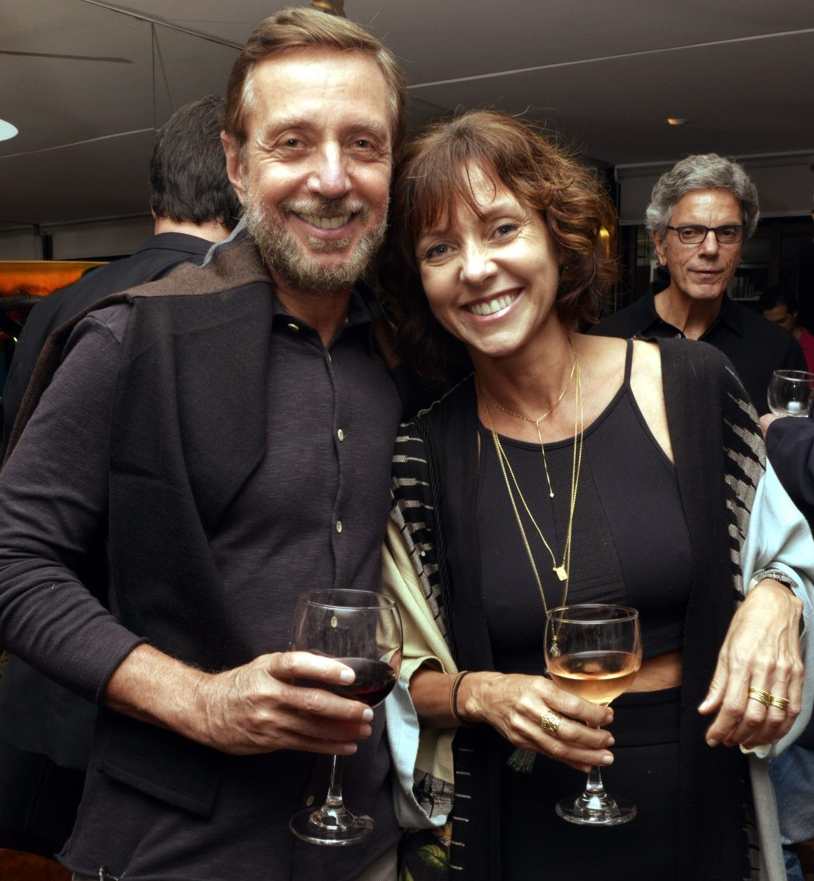 Nando Grabowsky e Claudia Melli /Foto: Cristina Granato