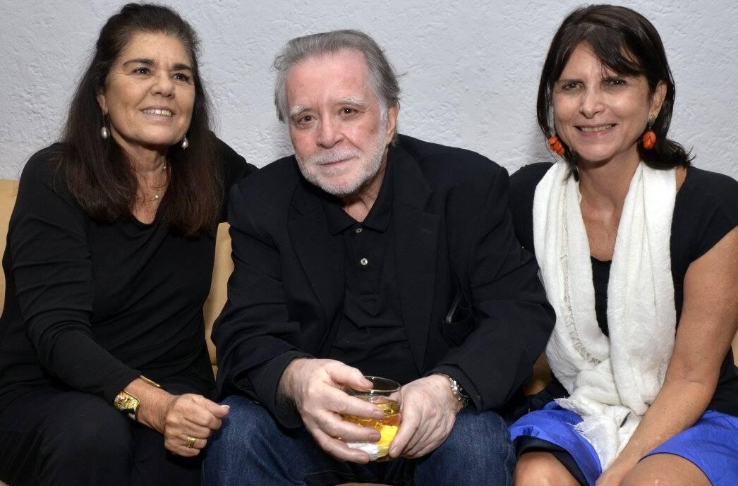 Bia Borges, Adriano de Aquino e Dulce Quental /Foto: Cristina Granato