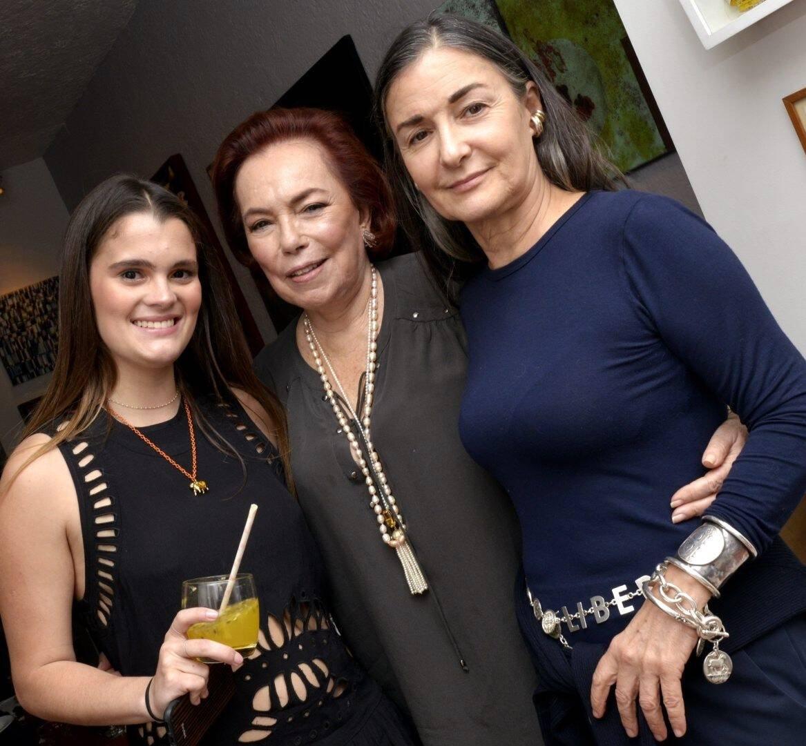 Luiza Midosi, Maryse Müller e  Lygia Durand /Foto: Cristina Granato