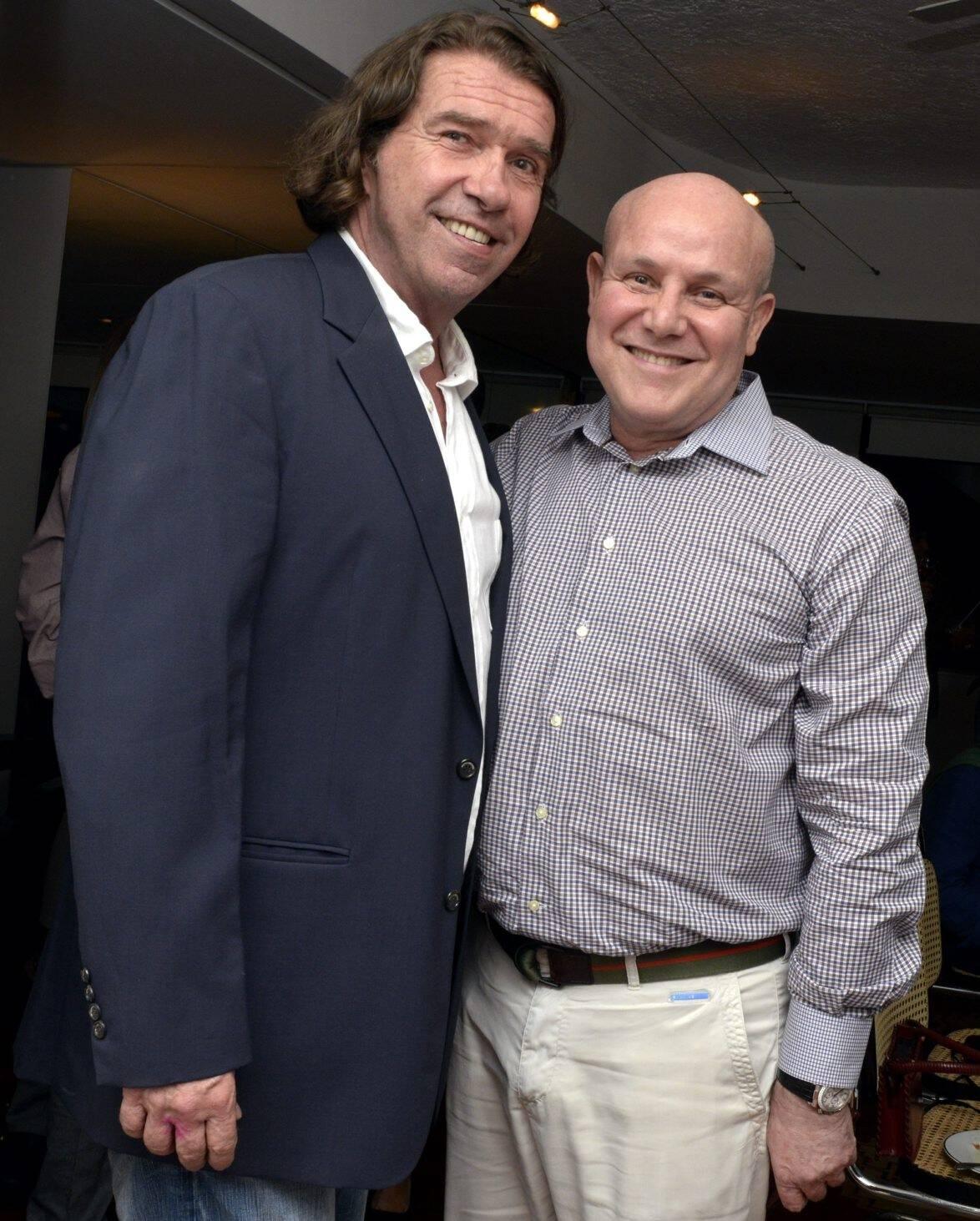 José de Paula Machado e Paulo Müller /Foto: Cristina Granato
