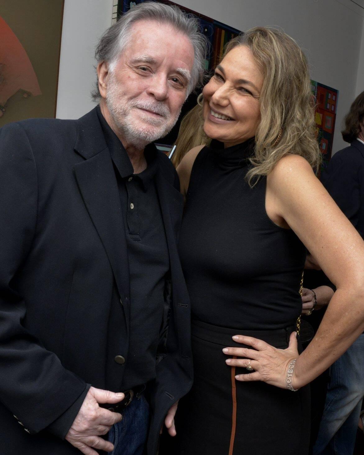 Adrianao de Auino e Marcia Müller /Foto: Cristina Granato