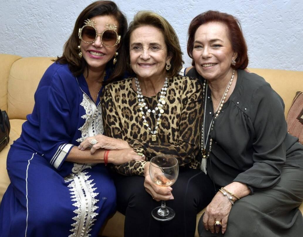 Narcisa Tamborindeguy, Lucinha Araújo e Marize Müller /Foto: Cristina Granato