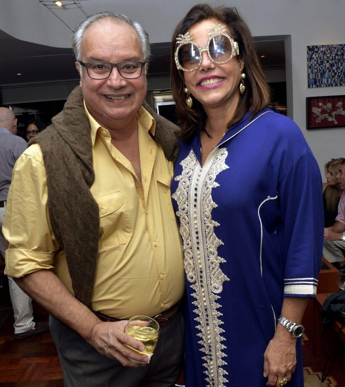 Paulino Basto e Narcisa Tamborindeguy /Foto: Cristina Granato