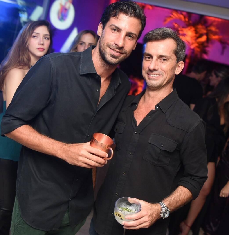 Bernardo Sued e André Rocha /Foto: Ari Kaye