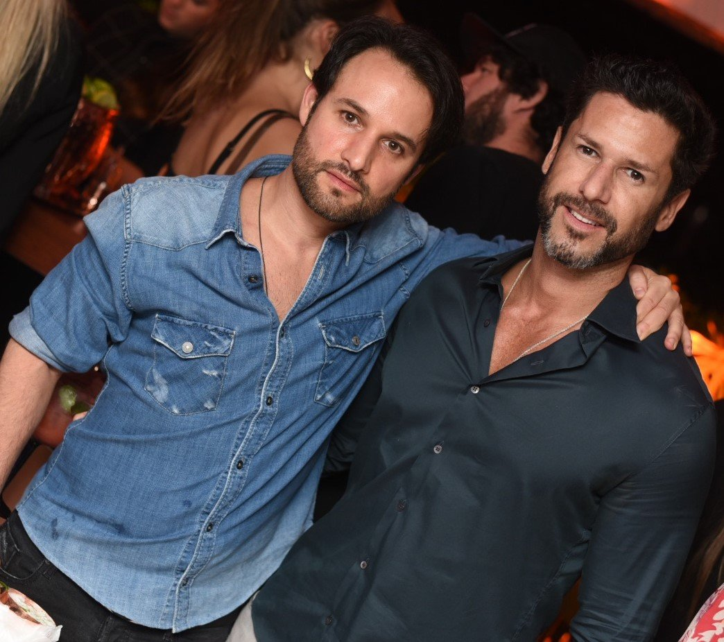 Rodrigo Medina e Roger Rangel /Foto: Ari Kaye