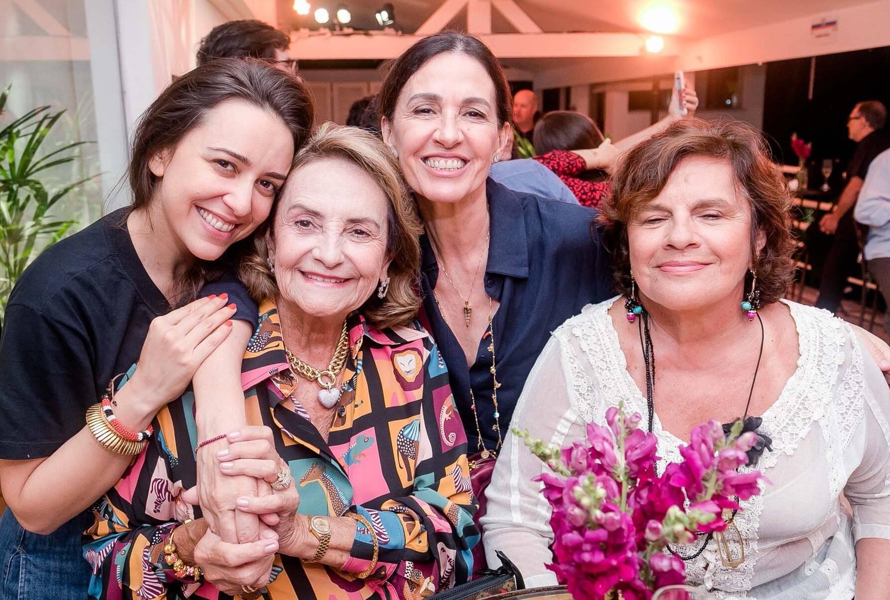 Roberta Sá, Lucinha Araújo, Flora Gil e Gilda Mattoso  /Foto: Miguel Sá