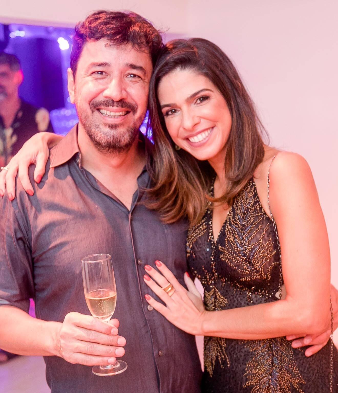 Fabio Dobbs e Luisi Valadão  /Foto: Miguel Sá