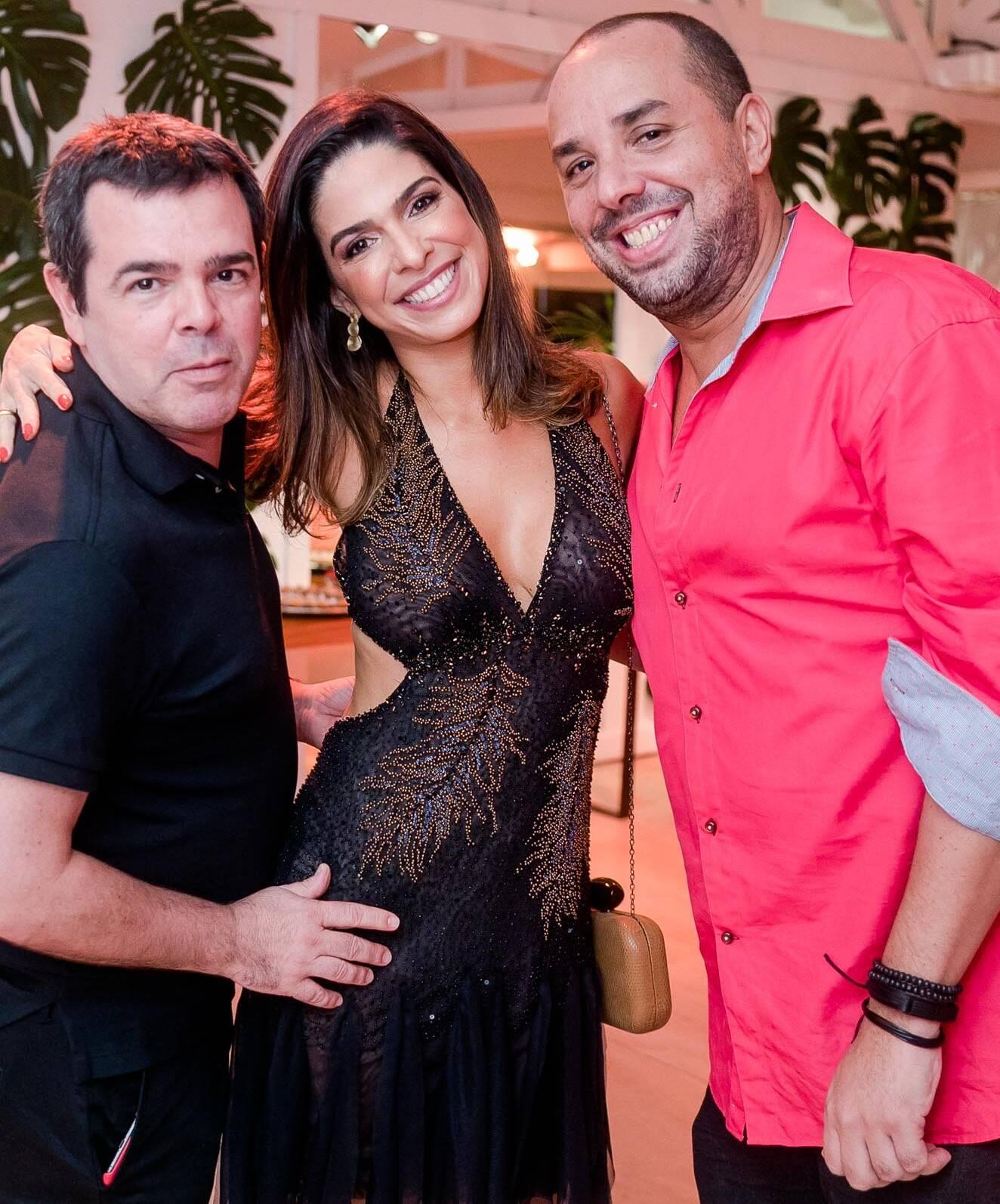 Luizinho Costa, Luisi Valadão e Leandro Gomes  /Foto: Miguel Sá