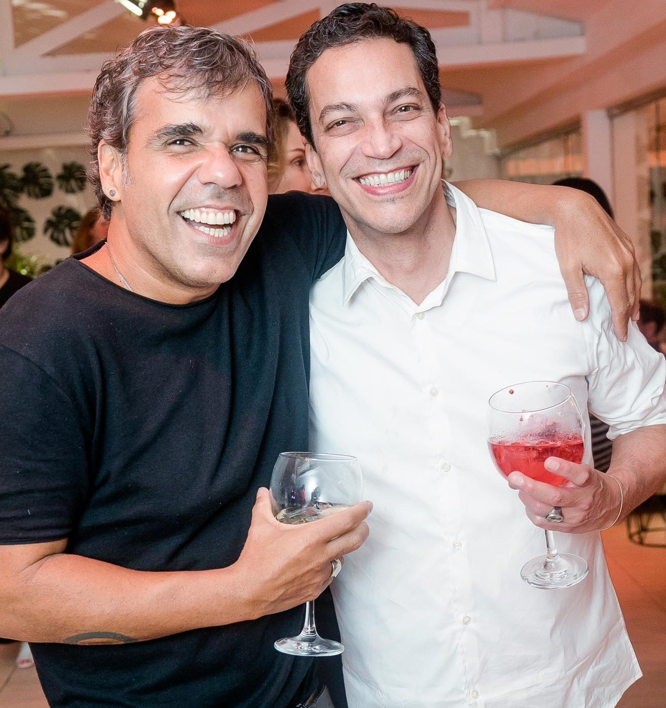 Evandro Rius e Luiz Mena Barreto  /Foto: Miguel Sá