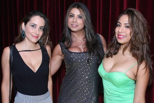 Daniela Parque, Luciana Lima e Mily Lescanso