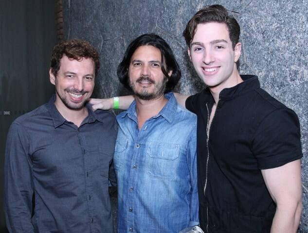 José Raphael, Rodolfo Rascão e Yan