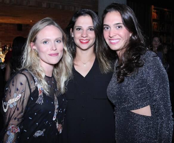 Carla Sparano, Ana Sussekind e Laura Jaber