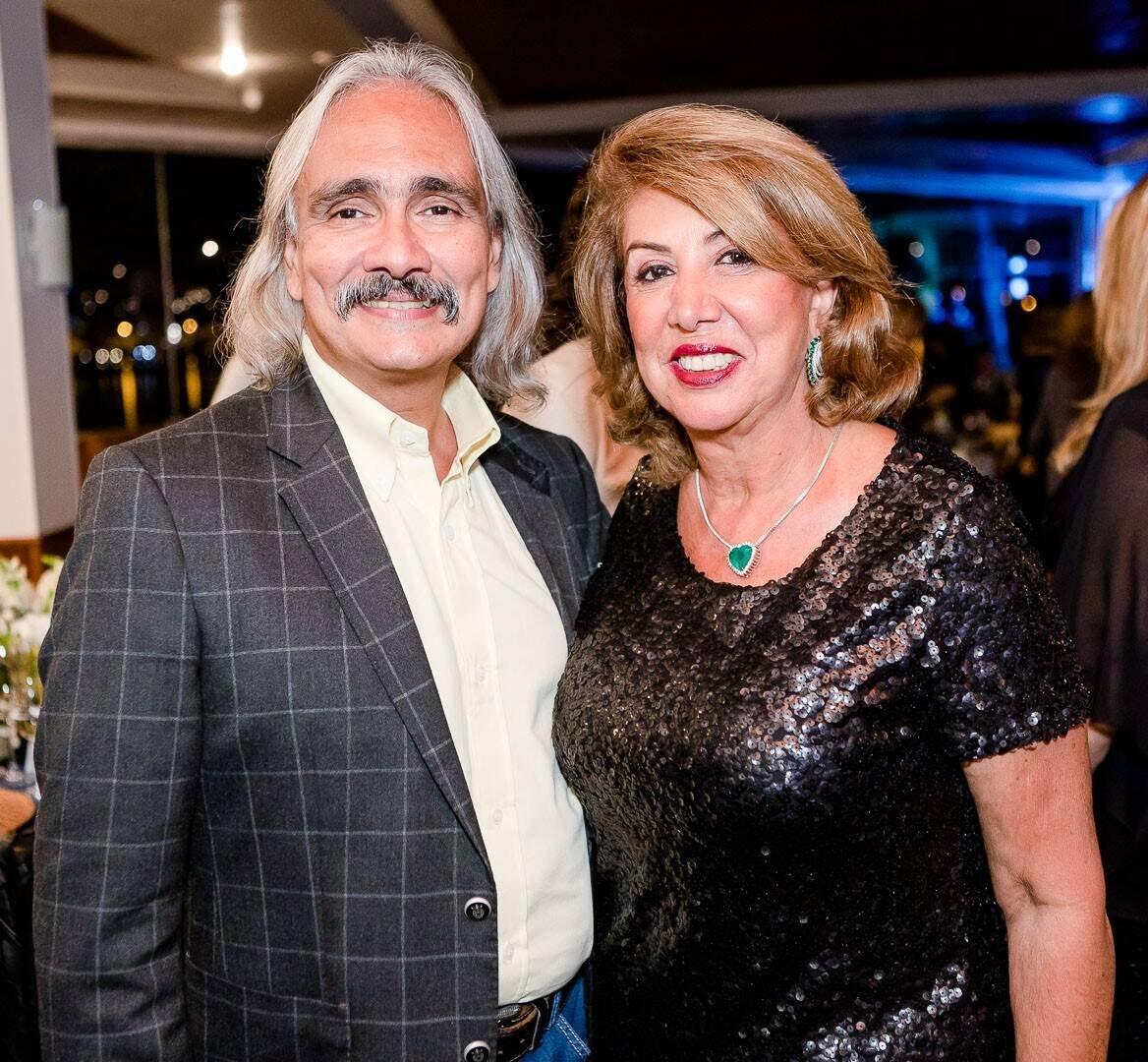César Raposo e Angela Costa /Foto: Bruno Ryfer