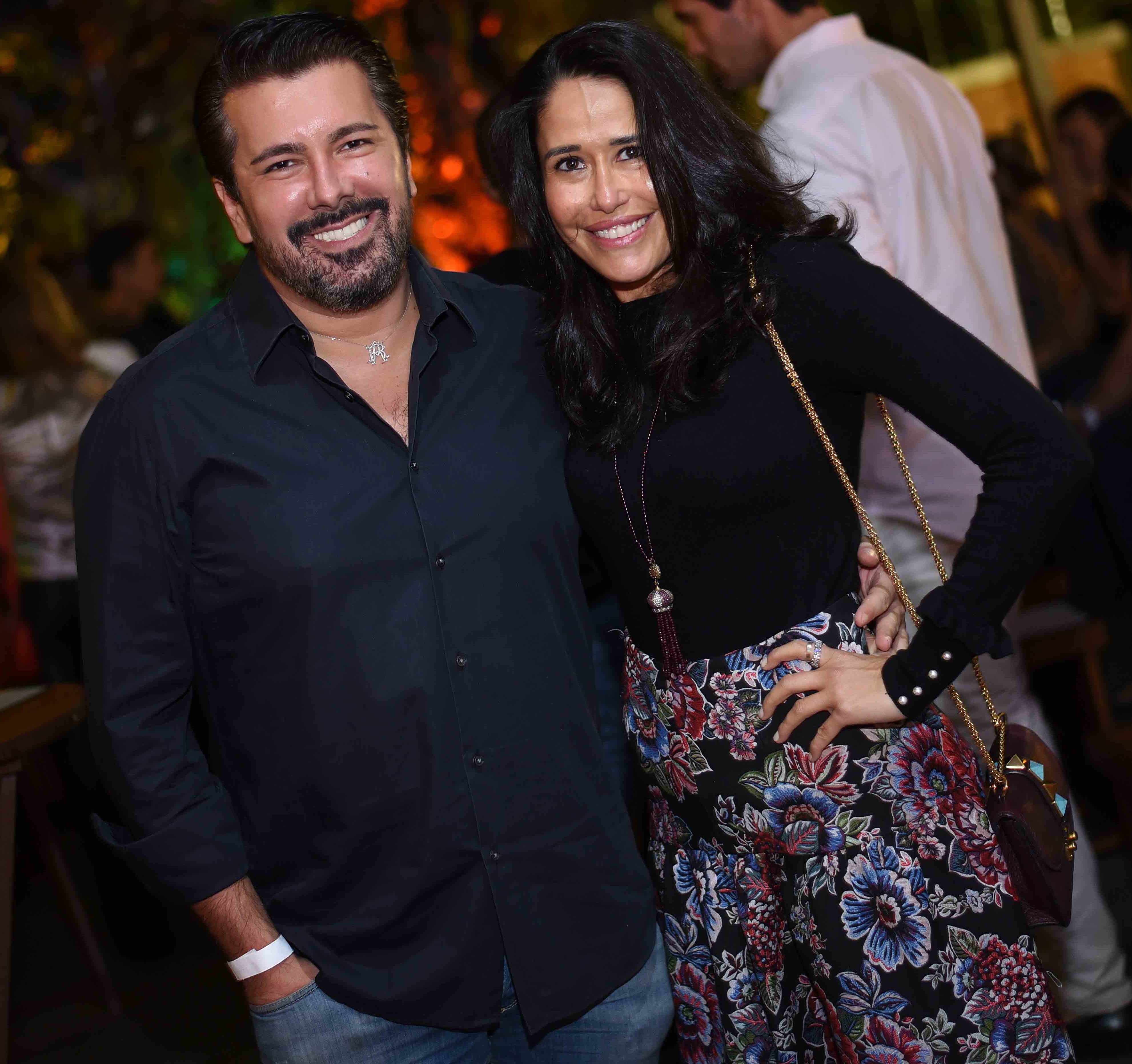 André Ramos e Paula Severiano Ribeiro /Foto: Ari Kaye