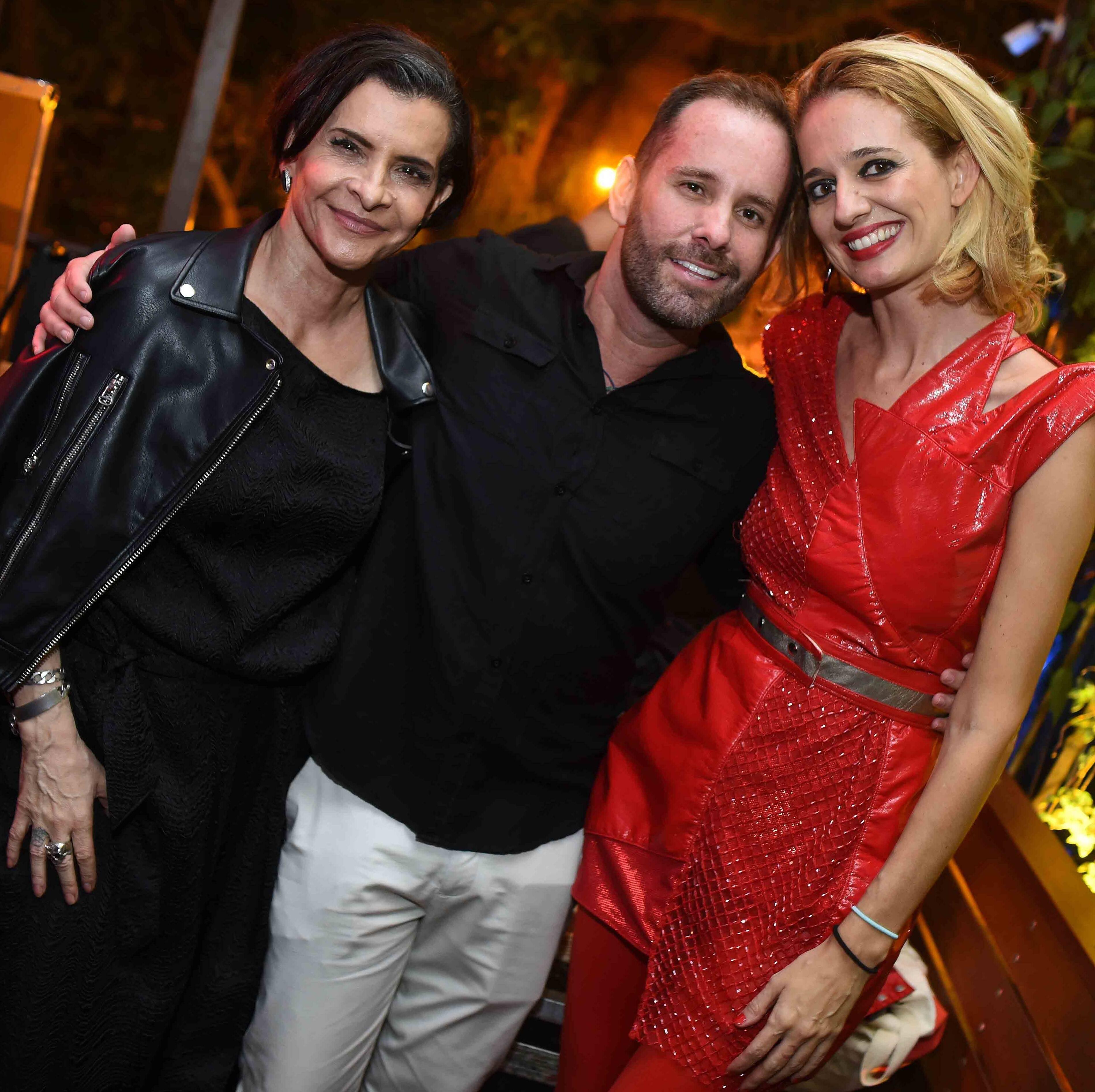 Marina Lima, Leo Marçal e Letrux /Foto: Ari Kaye